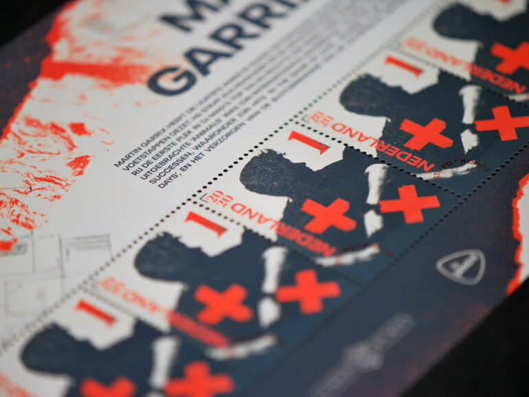 Martin Garrix stamp comes to life thanks to Royal Joh. Enschedé and WijDoenDingen
