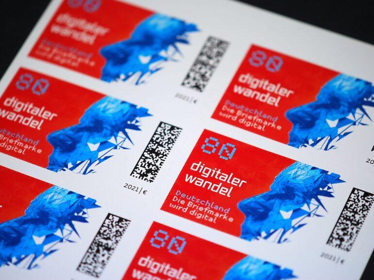 Deutsche Post launches its DMC stamp